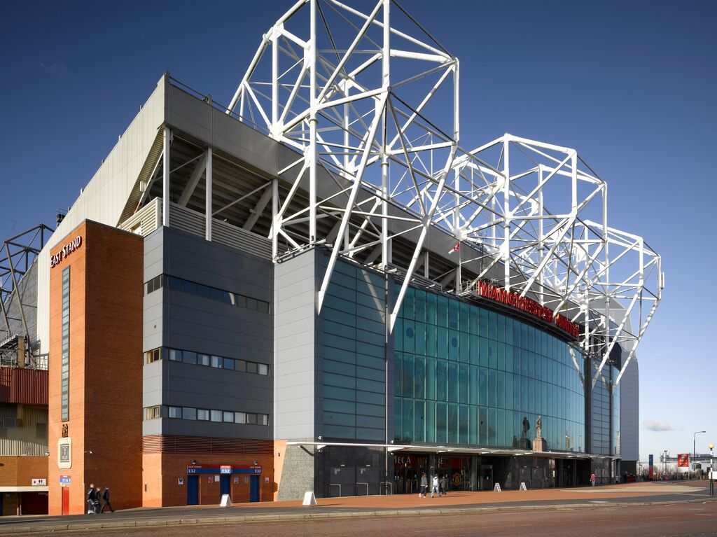 manchester united old trafford building envelope tata steel