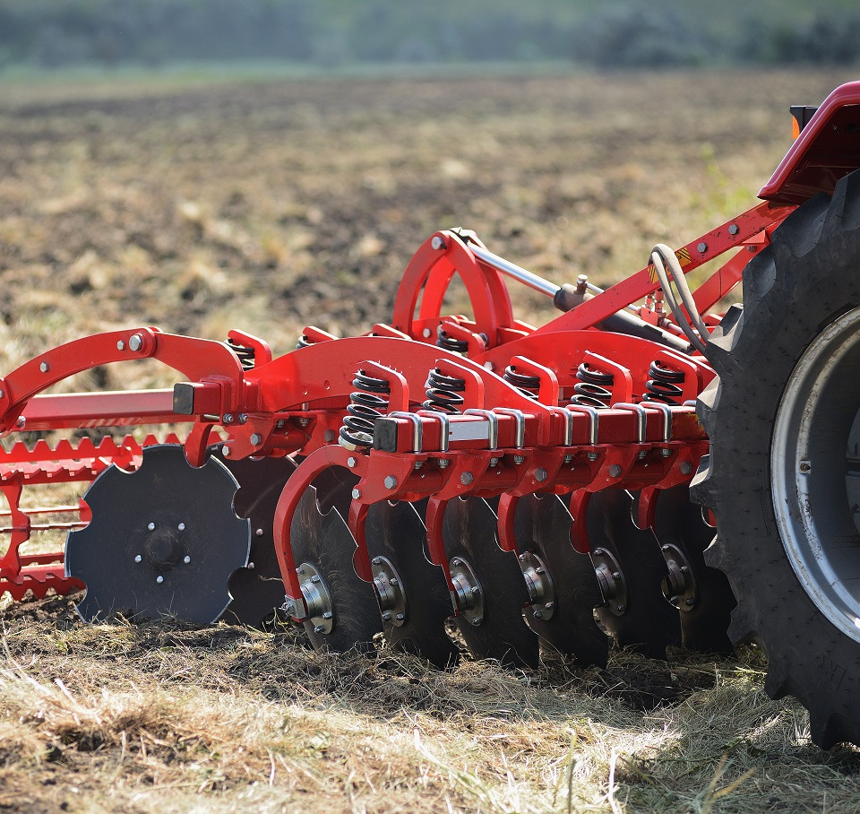 Boron manganese grades are used in agricultural equipment