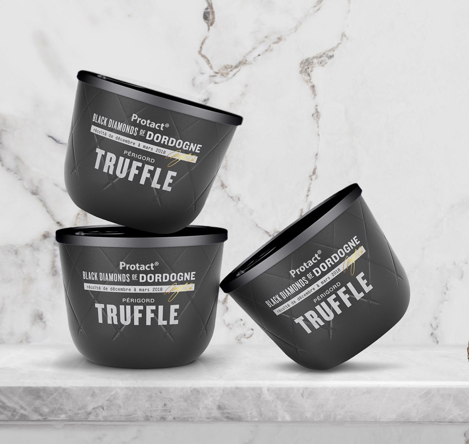 Protact design: Truffle can concepts