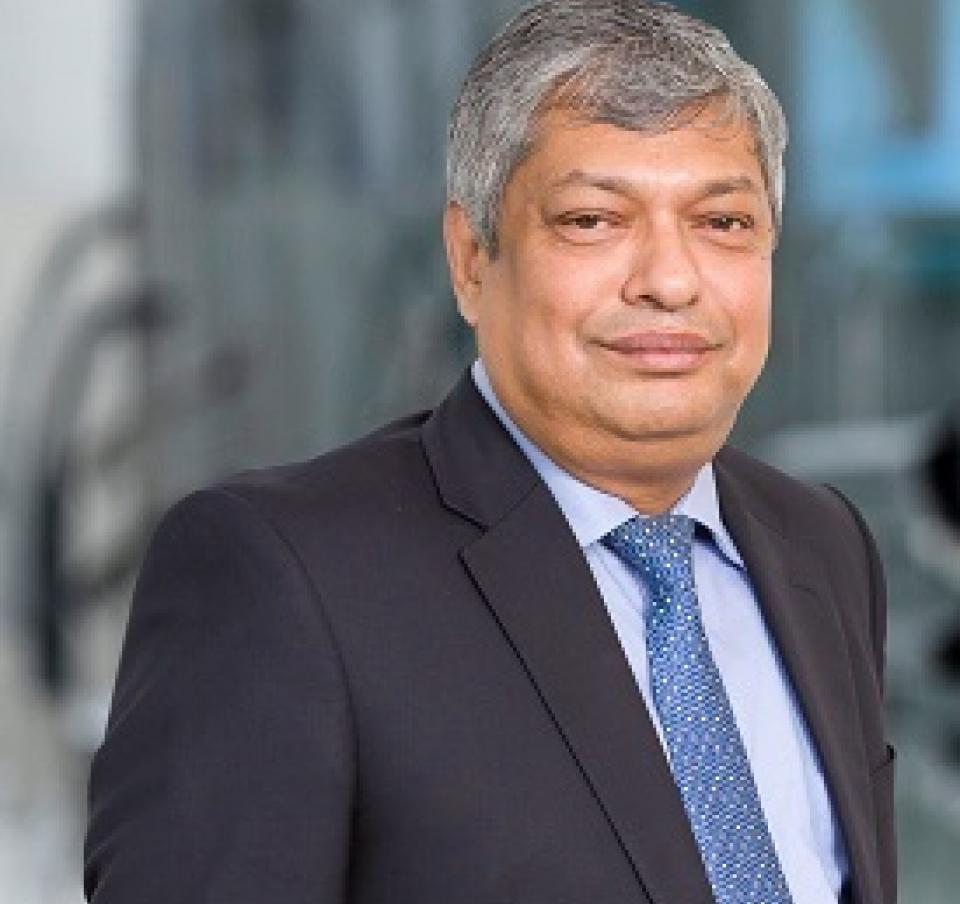 Sandip Biswas, Executive Director and Chief Financial Officer of Tata Steel in Europe