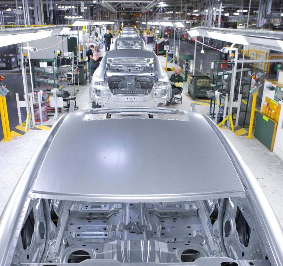 Vehicle manufacture