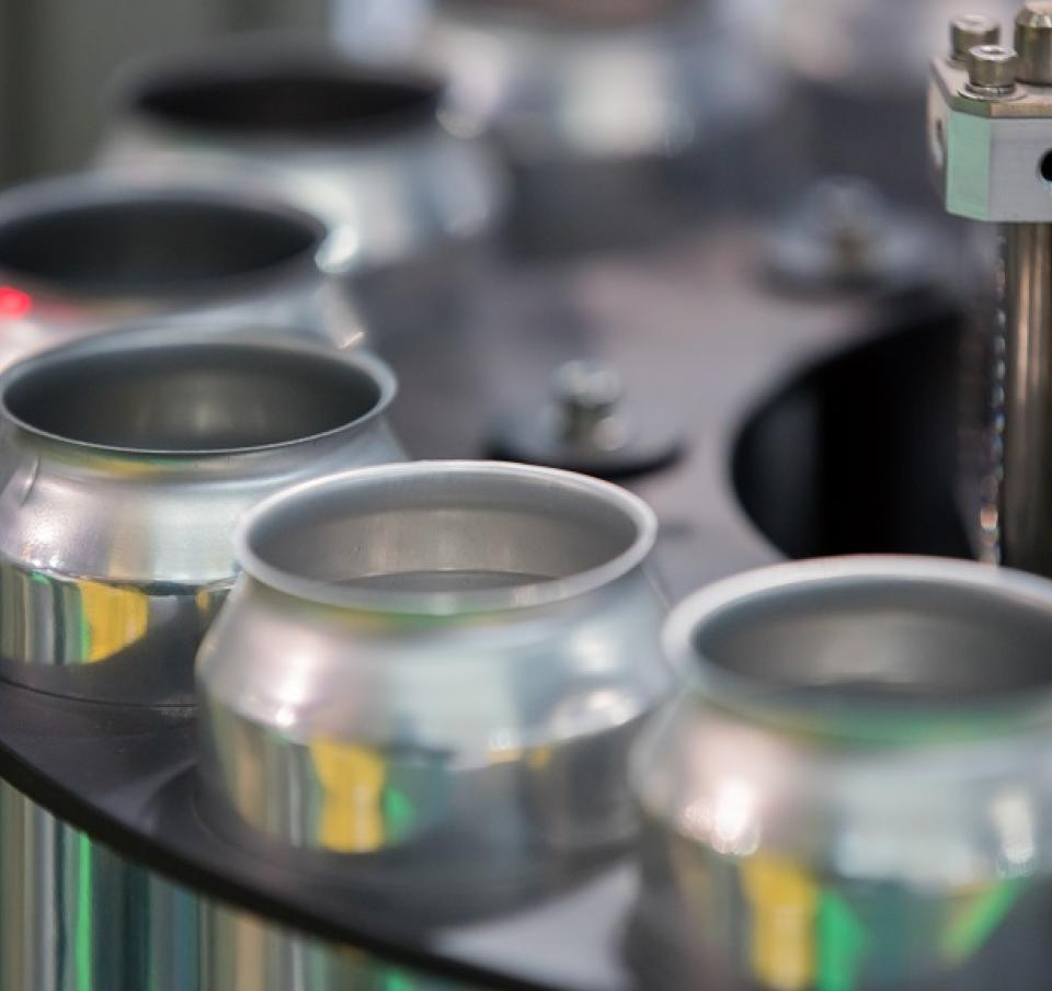 Steel beverage cans safeguard the quality and branding during filling, transport and storage