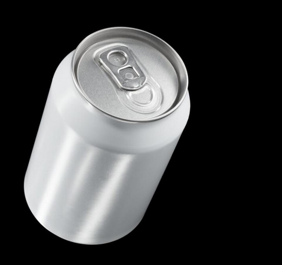 Beverage can made with Protact polymer-coated steel